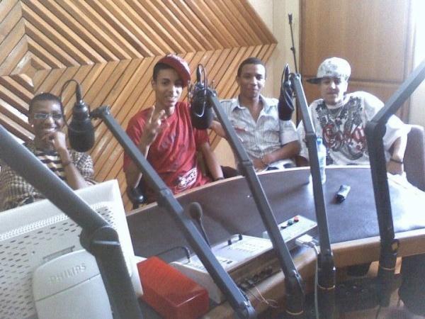 K-boYz  Invité Chez Radio Rabat Chaine Inter