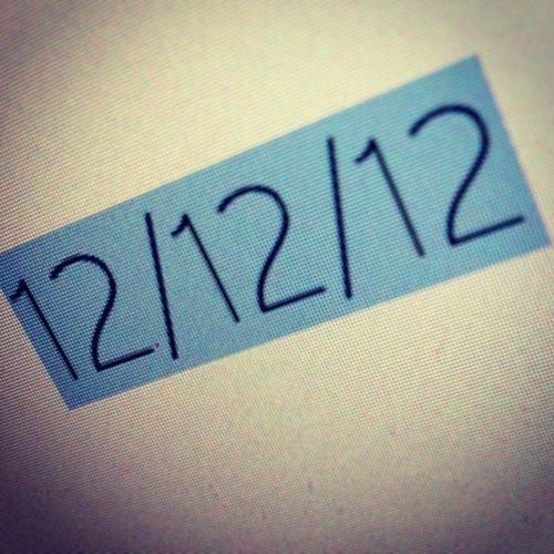12.12.12 à 12.12h <3