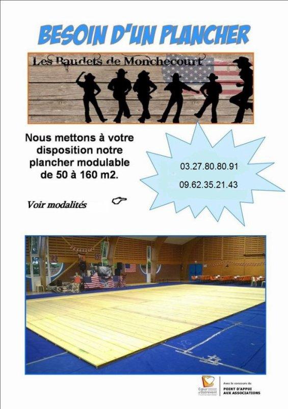 Les Baudets de Monchecourt mettent à votre disposition un plancher modulable de 50 à 160 m2