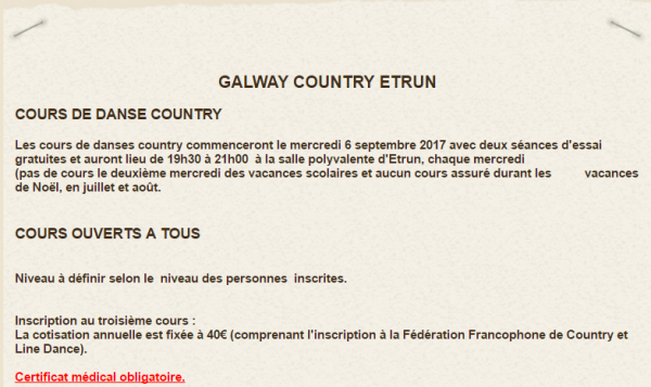 Galway Country Etrun