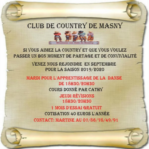 Club de country Masny