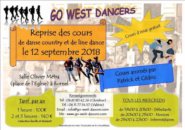 Go West Dancers