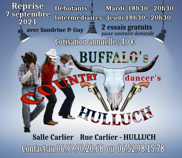 Buffalo's Country Dancers d'Hulluch