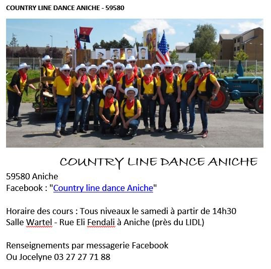 Country Line Dance Aniche