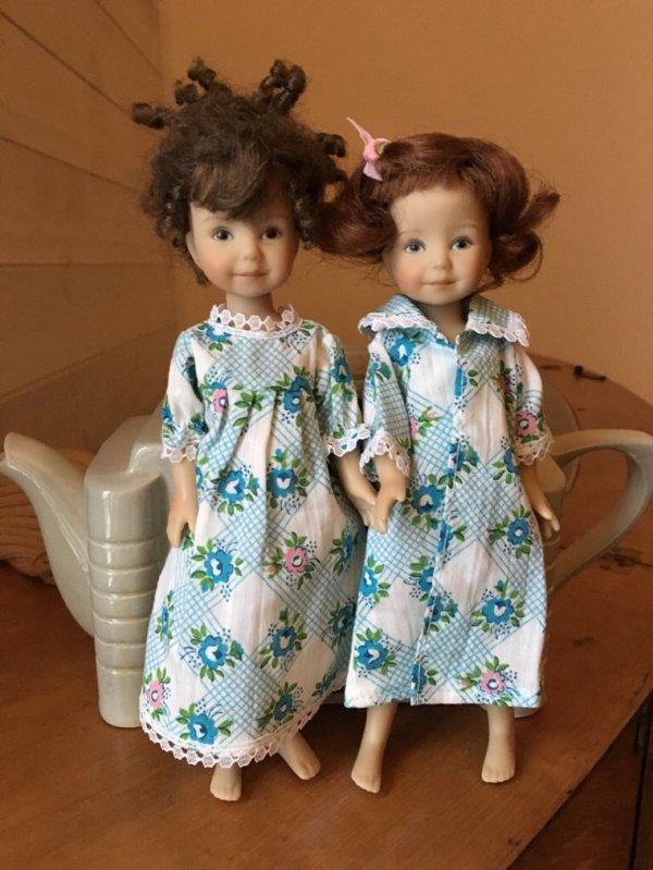 Une tisane et au lit... La poupée de la poupée...