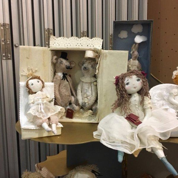 Paris Création-poupées d'artistes