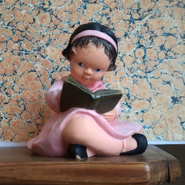 L'apprentissage ou La petite fille en rose.