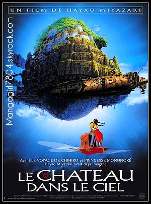 9 9 Le château dans le ciel [ Film d'animation - 1986 ] 9