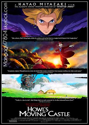 9 9 Le château ambulant [ Film d'animation - 2004 ] 9