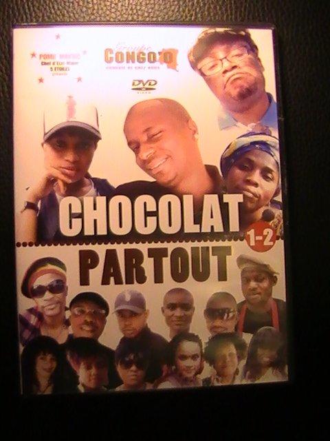 """POMIF MAVUZI CHEF D ETAt-MAJOR 5 ETOILES PRESENTE """"  CHOCOLAT PARTOUT """" le théatre du GROUPE CONGO"""