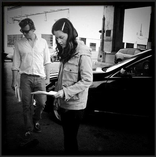 Simon & Robin sur le tournage de la saison 6