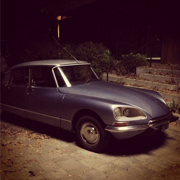 Photo de tournage (la voiture de Jane)