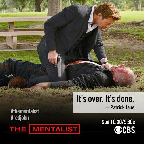 It's over. It's done. - Patrick Jane -