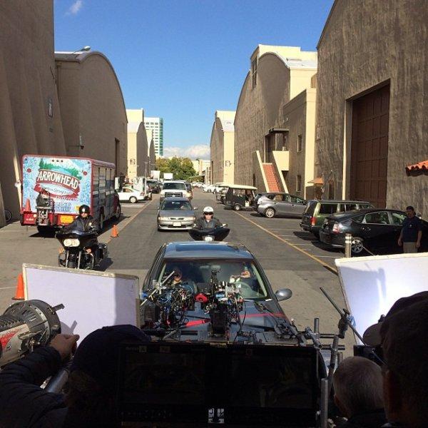 Des photos de tournages des épisodes 13 et 14
