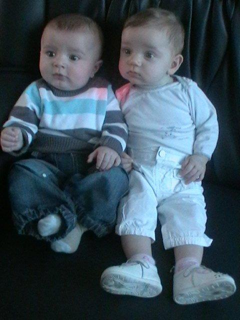 mon petit neveu tony et ma fille ambre