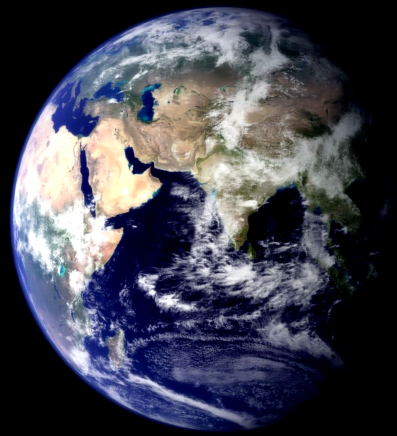 Tu vois comme la terre est belle?