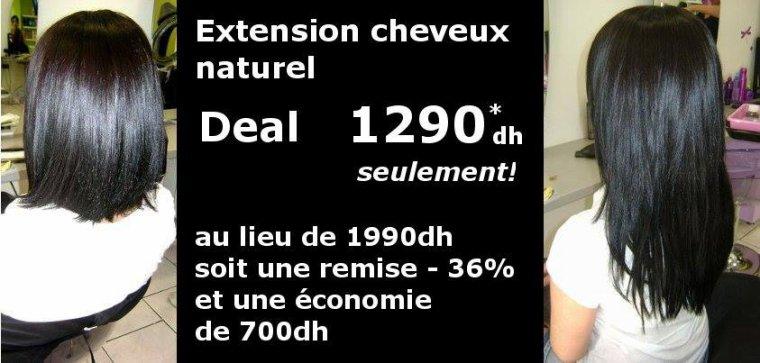 Extensions cheveux naturels maroc