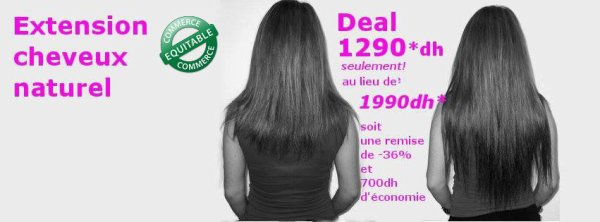 Cheveux naturels au maroc