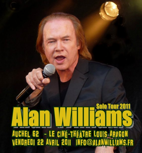 Concert solo Alan Williams au profit du refuge .....