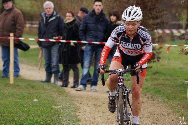 Cyclo cross de La Mézière, mi janvier