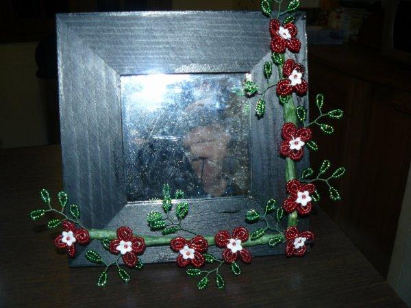 3002 cadre fleuri