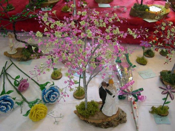 3020 abricotier du Japon avec des fleurs en couleurs