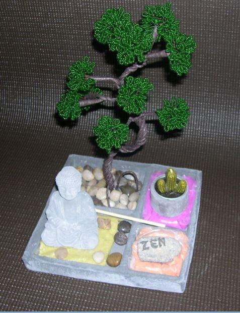 3027 bonsaï sur jardin zen