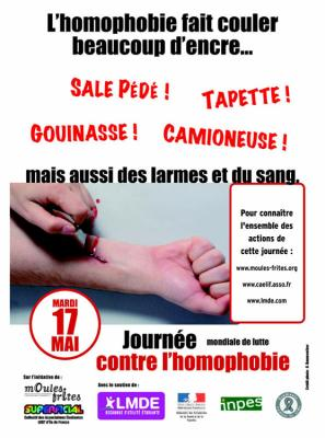 Lutte contre l'homophobie