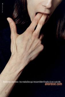 l'anorexie lente autodestruction