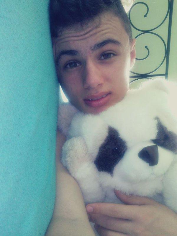 moi et mon doudou :)