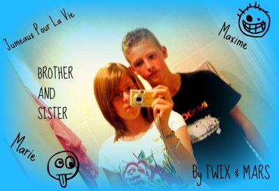 "Maxime &"" Me :)"