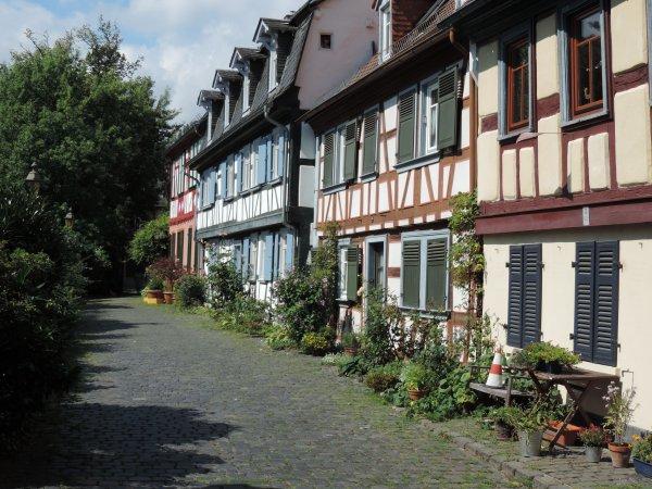 Visite à Florine à Francfort !