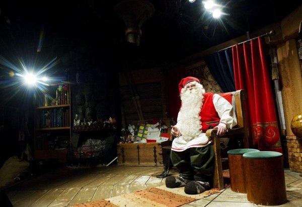 Que fait le Père Noël....