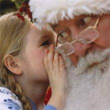 Pour voir le Père Noël