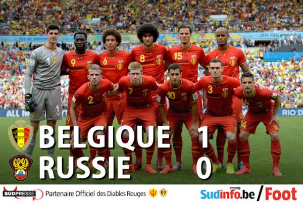 yess belgique   1   russie o   encor bravon les belge