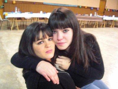Aurélie et ma seurette =)