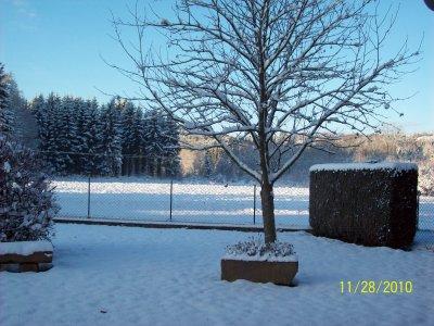 La neige en ce dimanche