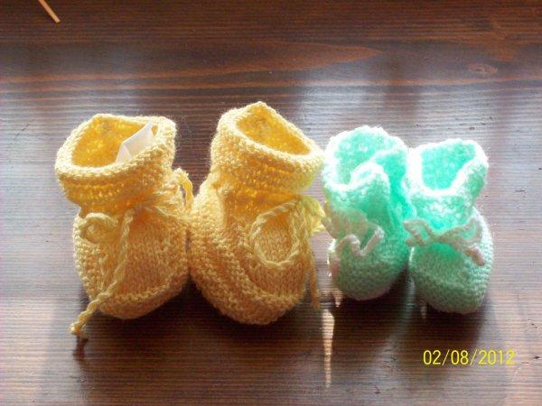 Des petits chaussons