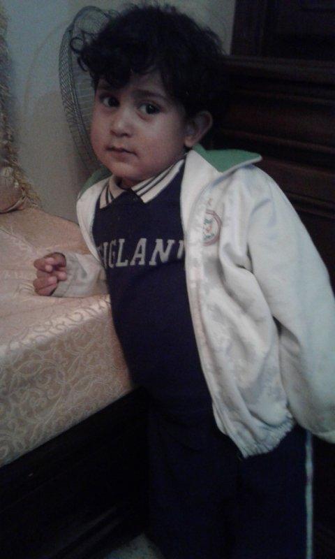 c'est le fils  Ibrahim de mon frère missoum
