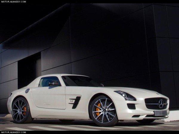 la voiture de mais rêve la Mercedes Benz GT