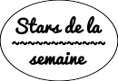 Photo de StarsDeLaSemaine