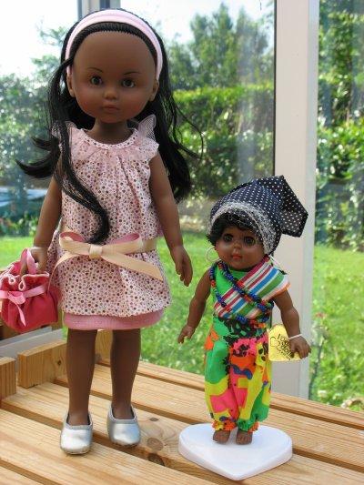 Nouvelles poupées noires