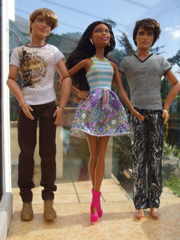 Trio de Fashionistas