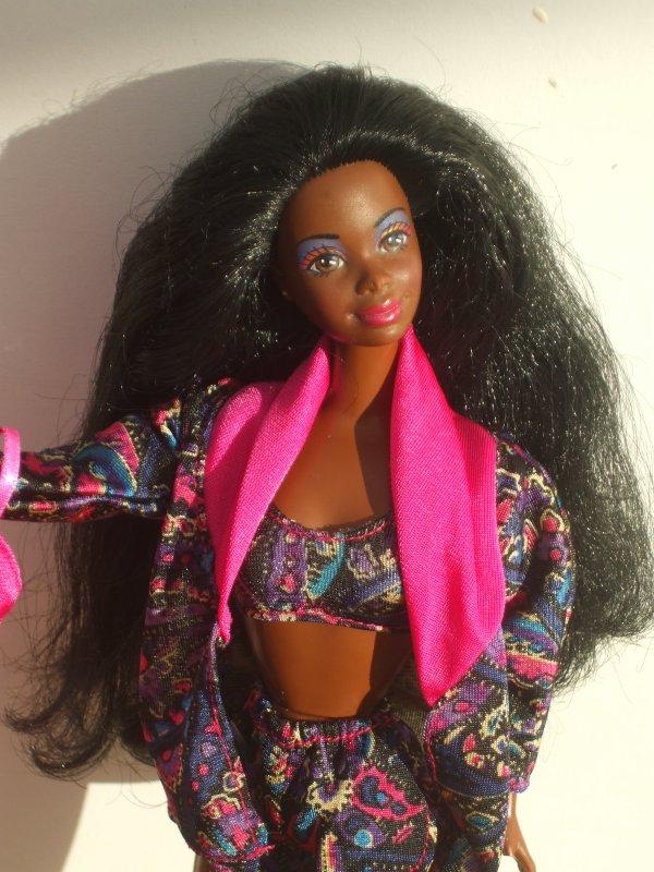 Belle afro-américaine