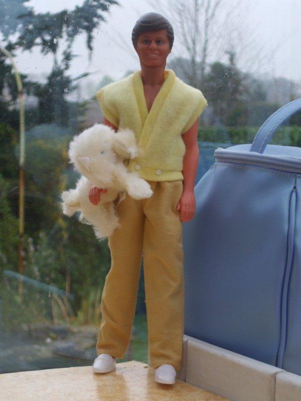 Petit défilé de Ken dans les années 80