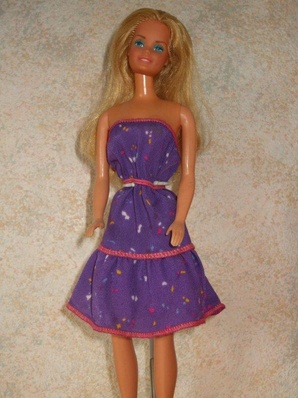 Lingerie et petite robe...