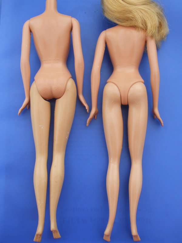 Barbie, corps 2006 VS 1999
