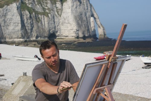 peintre autodidacte