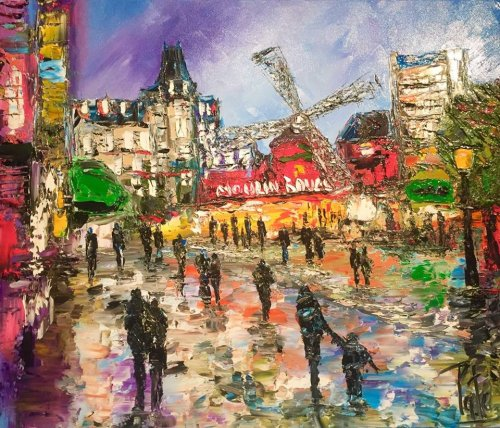 BOULEVARD DU MOULIN ROUGE PARIS
