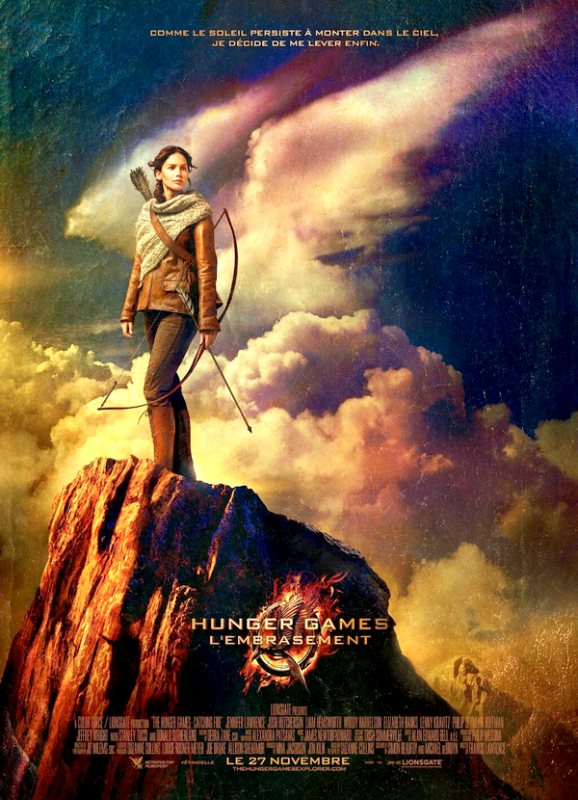 Premier poster de Catching fire